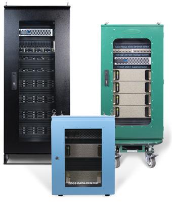 High efficiency racks to retrofit data center