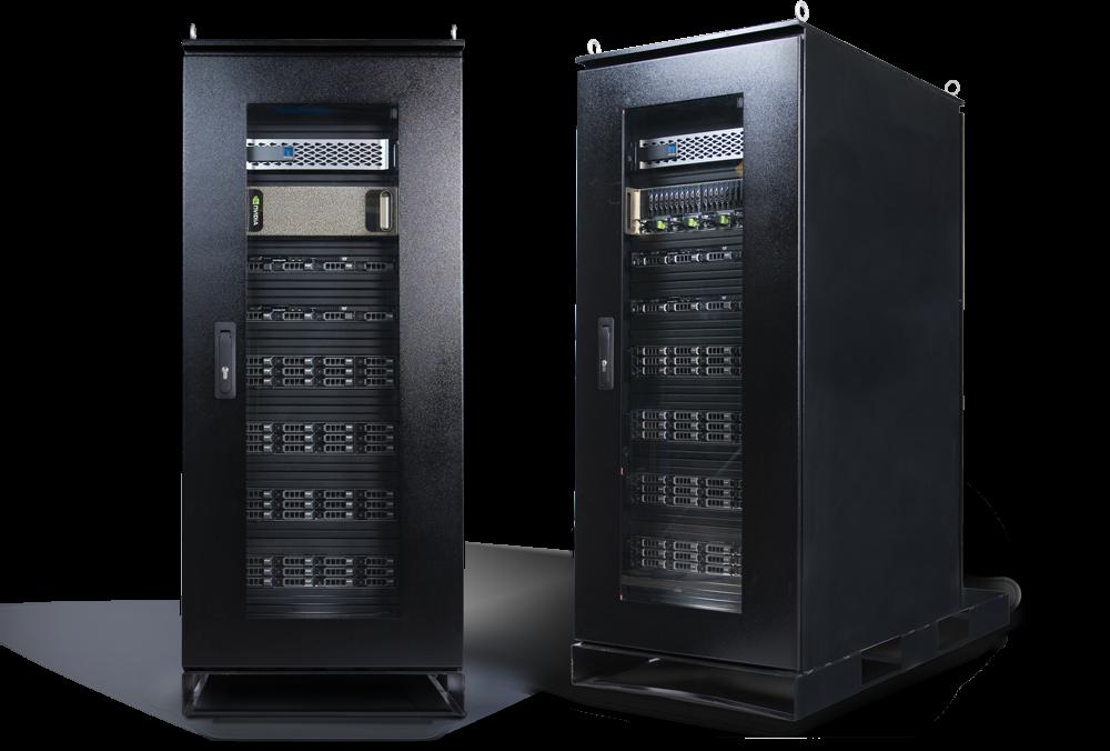 mobile data center for high density workloads