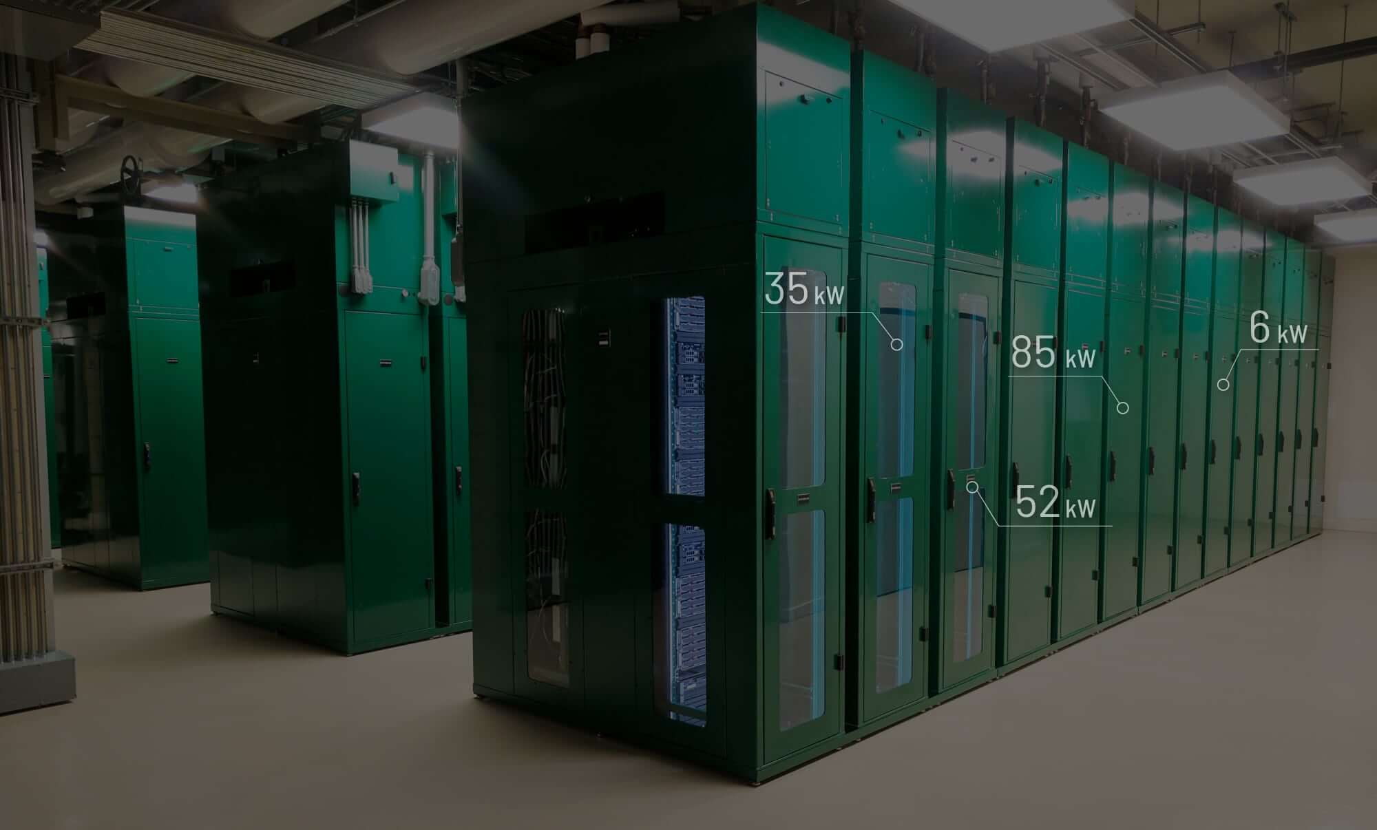 Retrofit data center racks